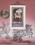 North-Korea Block81B (complete Issue) Unmounted Mint / Never Hinged 1980 450. Death Of Albrecht Dürer - Korea, North