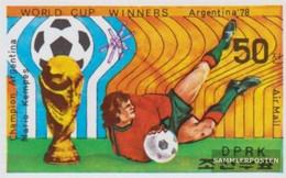 North-Korea 1780B (complete Issue) Unmounted Mint / Never Hinged 1978 Football-WM 1978 - Korea, North