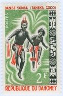 DAHOMEY, DANZE NATIVE, 1964, 2 F., FRANCOBOLLO NUOVO (MLH*)  Mi:DY 233, Scott:DY 185, Yt:DY 205 - Benin – Dahomey (1960-...)