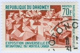 DAHOMEY, EXPO 67, MONTREAL, 1967, 70 F., FRANCOBOLLO USATO Mi:DY 316, Scott:DY 236, Yt:DY 256 - Benin – Dahomey (1960-...)