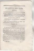 Bulletin Des Lois 813 De 1841 - Autorisation Emprunt Ardennes, Loire Etc - Importation Des Pierres Calcaires Ecossines - Décrets & Lois