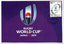 JAPAN. RUGBY WORLD CUP 2019. Carte-Maximum Du Japon - Rugby