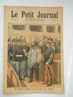Le Petit Journal  N°169 - 12 Février 1894 - Thivrier Expulsé Chambre Des Députés - Français Tombouctou - 1850 - 1899