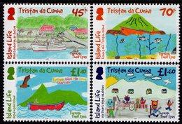 Tristan Da Cunha - 2019 - Island Life - Through Their Eyes - Mint Stamp Set - Tristan Da Cunha