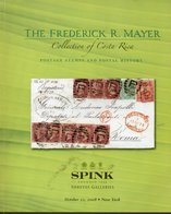 Costa Rica - The Frederic Mayer Collection - Spink 2008, Withprices Realised - Catalogues De Maisons De Vente