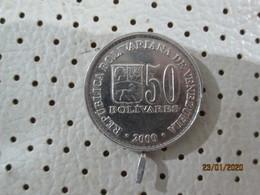 VENEZUELA 50 Bolivares 2000  # 2 - Venezuela