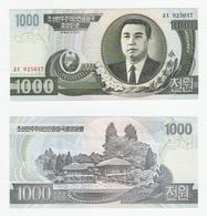 Korea  1000 Won 2002 UNC - Korea, North