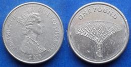 "GIBRALTAR - 1 Pound 2015 ""dragon Tree"" - Edelweiss Coins - Gibilterra"