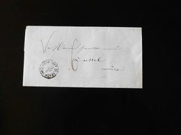 LETTRE DE ST GERMAIN EN LAYE POUR USSEL -  1859  - - Marcophilie (Lettres)
