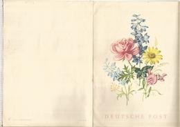ALEMANIA IMPRESO PARA TELEGRAMAS TELEGRAM FLORA FLOWER - Rosas