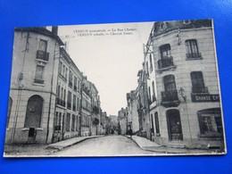 1929 VERDUN [55] Meuse-rue Chevert Commerces Pubs Carte Postale-CPA-pour Luché-Pringé Semeuse N°235 Cachet A Date Daguin - Verdun