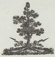 Héraldique Colmar An 8 - 23.11.1799 L'Agent Nat.de L'administration Des Forestière (Bonnet Phrygien, Fusils) - Documents Historiques