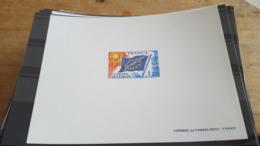 LOT 487655 TIMBRE DE FRANCE NEUF** EPREUVE DE LUXE N°48 VALEUR 45 EUROS SERVICE - Pruebas De Lujo