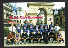 - DIJON - ( Cote D'Or) Equipe Du Basket Club Dijonnais - Dijon