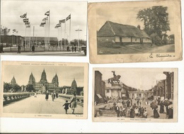 CPA, CPSM, Lot De 100,  Cartes France Et Quelques étrangères, 1900 -1955, - Postcards