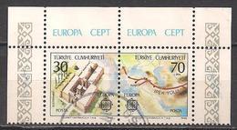 Türkei / Turkey (1982)  Mi.Nr.  2600 + 2601  Gest. / Used  (1gc17)  EUROPA - Europa-CEPT