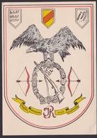AK Propaganda / Tapfer / Stramm Und Anständig / Feldpostkarte / Gelaufen 1942 - Weltkrieg 1939-45