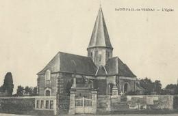 Saint Paul De Vernay   Eglise - France