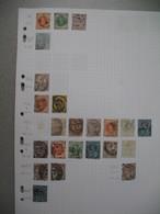 Perforé Perfin , Lot De Timbre Perforé Grande Bretagne : See Details, à Voir        W    /++++/     WaW - Perforadas
