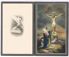 Dp. Fieuw Sylvie. Wed. Vanelslander Jan. ° Oostnieuwkerke 1884 † Passendale 1963  (2 Scan's) - Religion &  Esoterik
