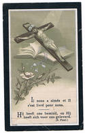 Dp. Poncelet Marie. Echtg. Ketelslagers Joannes. ° Voordt 1831 † Boeshoven 1905 (2 Scan's) - Religion &  Esoterik