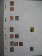 Perforé Perfin , Lot De Timbre Perforé Grande Bretagne : See Details, à Voir        WGM    /++++/     WHEEN - Perforadas