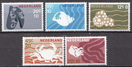 Netherlands MNH Set - Marine Life