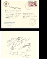 TAAF LETTRE 23/12/1961 TERRE ADELIE N°19 - Tierras Australes Y Antárticas Francesas (TAAF)
