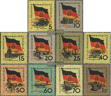 DDR 722-731 (complete Issue) Unmounted Mint / Never Hinged 1959 Special Stamps - Nuovi