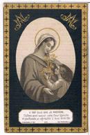 Dp. Van Der Beijden Godeliva. Wed. Verwilghen Joannes. ° Hulst 1804 † Hulst 1885  (2 Scan's) - Religion &  Esoterik