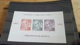 LOT 487697 TIMBRE DE MONACO NEUF** LUXE NON DENTELE N°53a VALEUR 205 EUROS - Collections, Lots & Séries