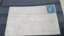 LOT 487700 TIMBRE DE FRANCE  OBLITERE BORDEAUX - 1870 Uitgave Van Bordeaux
