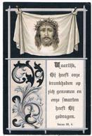Dp. Loos Adriana. Echtg. Van Dorst Cornelius. ° Esschen 1871 † Wildert 1900  (2 Scan's) - Religion &  Esoterik
