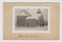 Laneuville   Libramont-Chevigny     PHOTO De L'église Ste Marie Et Ses Environs - Libramont-Chevigny