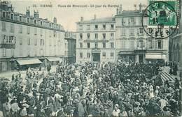 VIENNE -place De Miremont Un Jour De Marché - Vienne