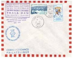 TAAF LETTRE 21/12/1964 TERRE ADELIE AVEC N°4 ET N°15 - Tierras Australes Y Antárticas Francesas (TAAF)