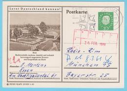 """J.M. 33 - """"Lernt Deutschland Kennen - N° 29 - Série 915320 1/60  81/490 - Bonn Beethovenhalle - L.v. Beethoven - Allemagne"""