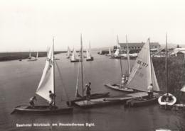 AK - Burgenland - Neusiedlersee - Mörbisch - Hotel Und Segelboote - 1960 - Neusiedlerseeorte