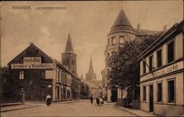 Cp Ratingen Nordrhein Westfalen, Lintorfer Straße, Schreinerei Herm. Bös, M, Geschäft August Weidle - Germania
