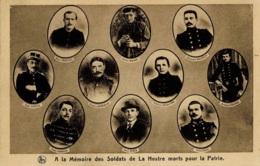 A La Mémoire Des Soldats De La Hestre Morts Pour La Patrie - Manage