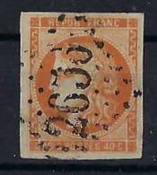 FRANCE 1870:  40c. Cérès Orange ND (Y&T 48) Oblitéré  GC 2656 (Nice)  TTB - 1870 Uitgave Van Bordeaux