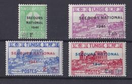 Tunisie 1941  Y&T   N°  227 A 230   NEUF ** Valeur 3.90 Euros - Ungebraucht