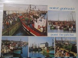 CP Cpa CPSM Cpm POSTCARD 29 ST GUENOLE Port Pêche 1984 GP ANIME ED CP JACK MULTIVUE Multivues - Bénodet