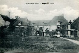 N°2078 T -cpa St Pierre Canivet -les Tilleuls- - France