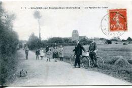N°2080 T -cpa Soliers Par Bourguébus -la Route De Caen- - France