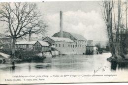 N°2081 T -cpa Saint Rémy Sur Orne -usine De Mlles Froger Et Gosselin- - France