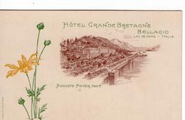 Italia - Italië - Bellagio - Hotel Grande Bretagne - 1900 - Como - Italië