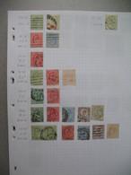 Perforé Perfin , Lot De Timbre Perforé Grande Bretagne : See Details, à Voir        WW     /++++/     WWJLd - Perforadas