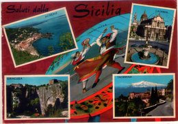 Saluti Dalla Sicilia. Multivisione. VG. - Italië