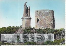 CPSM France 56 Morbihan Plumedec Notre Dame De La Salette Et Le Moulin - France